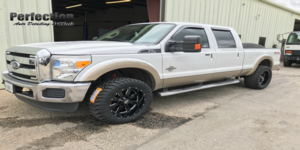 Ford F-250 Super Duty with Moto Metal MO962