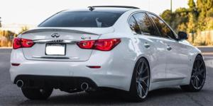 Infiniti Q50 with Verde Wheels V99 Axis