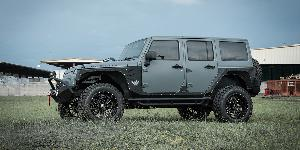 Jeep Wrangler with XF Off-Road XF-211