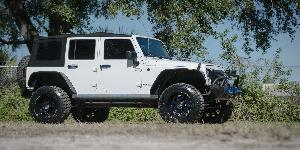 Jeep Wrangler with XF Off-Road XF-203