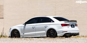 Audi S3 with Rotiform ZMO-M