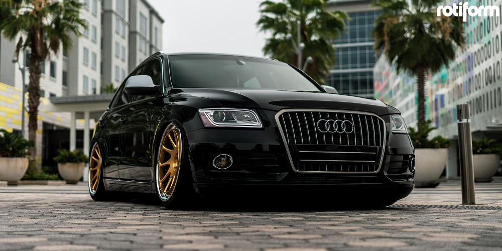 Audi A4 with Rotiform OZT