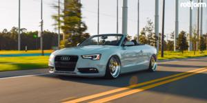 Audi A5 with Rotiform TMB