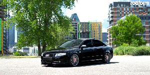 Audi A4 with Rotiform RSE