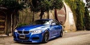 BMW 335i with Verde Wheels V21 Reflex