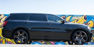 Dodge Durango with Verde Wheels V24 Invictus