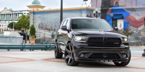 Dodge Durango with Verde Wheels V24 Invictus