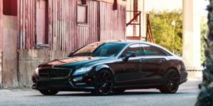 Mercedes-Benz CLS550 with Verde Wheels V25 Quantum
