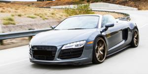 Audi R8 with Verde Wheels V99 Axis