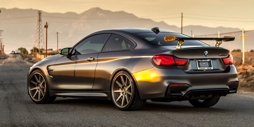 BMW M4 with Verde Wheels VFF02