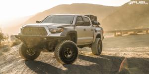 Toyota Tacoma with Fuel 1-Piece Wheels Warp Beadlock - D119