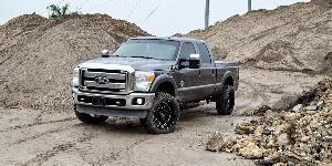 Ford F-250 Super Duty with XF Off-Road XF-205