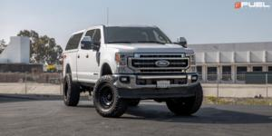 Ford F-150 with Fuel 1-Piece Wheels Zephyr - D633 [Truck]