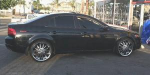 Acura TL with VCT Bossini