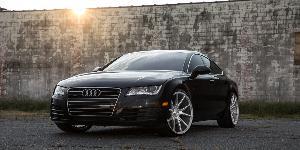 Audi A7 with Asanti Black Label ABL-13 Vega