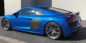 Audi R8 with Asanti Wheels TL101