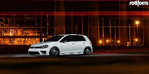 Volkswagen GTI with Rotiform RSE