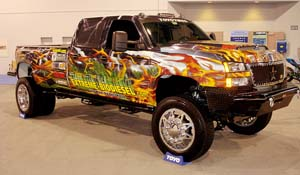 2009 Chevrolet Silverado 3500 HD Dual Rear Wheel with American Force Dually With Adapters Series 9 Liberty DRW