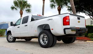 2008 Chevrolet Silverado 3500 HD Dual Rear Wheel with American Force Dually With Adapters Series 9 Liberty DRW