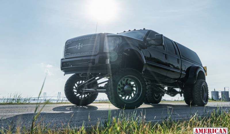 2015 Ford F-350 Super Duty Dual Rear Wheel with American Force Super Dually Series 6D07 Camber SD