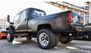 2007 Chevrolet KODIAK C4500 Dual Rear Wheel with American Force Dually With Adapters Series G07 Sector SF DRW
