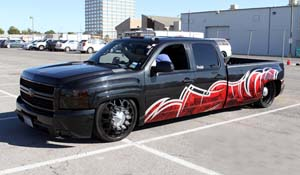2007 Chevrolet Silverado 3500 HD Dual Rear Wheel with American Force Dually With Adapters Series 4 Magnum DRW
