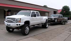 2003 Chevrolet Silverado 3500 HD Dual Rear Wheel with American Force Dually With Adapters Series 11 Independence DRW