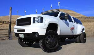 2012 Chevrolet Silverado 3500 HD Dual Rear Wheel with American Force Super Dually Series 611 Independence SD