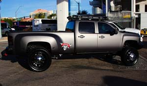 2013 Chevrolet Silverado 3500 HD Dual Rear Wheel with American Force Dually With Adapters Series H01 Contra DRW