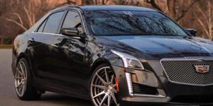 Cadillac CTS with Verde Wheels V20 Insignia