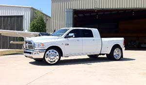 2012 Dodge RAM 3500 Dual Rear Wheel with American Force Dually With Adapters Series 1 Classic DRW