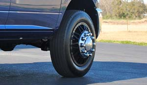 2012 Dodge RAM 3500 Dual Rear Wheel with American Force Dually With Adapters Series 9 Liberty DRW