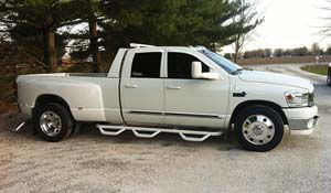 2007 Dodge RAM 3500 Dual Rear Wheel with American Force Dually With Adapters Series 1 Classic DRW