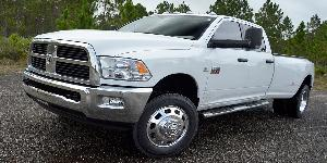Dodge Ram 3500 with American Force Addict SF8