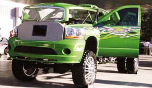 2007 Dodge RAM 3500 Dual Rear Wheel with American Force Dually With Adapters Series 9 Liberty DRW