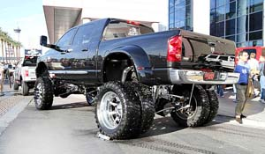 2007 Dodge RAM 3500 Dual Rear Wheel with American Force Dually With Adapters Series 11 Independence DRW