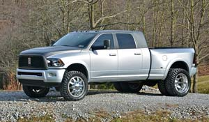 2011 Dodge RAM 3500 Dual Rear Wheel with American Force Dually With Adapters Series 1 Classic DRW