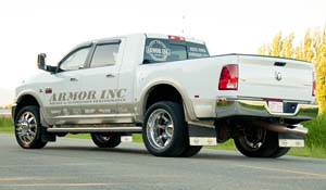 2012 Dodge RAM 3500 Dual Rear Wheel with American Force Dually With Adapters Series 11 Independence DRW