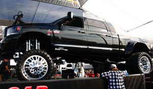 2011 Dodge RAM 3500 Dual Rear Wheel with American Force Dually With Adapters Series 9 Liberty DRW