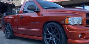 Dodge Ram 1500 with Verde Wheels V99 Axis