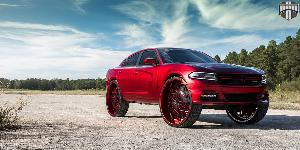 Dodge Charger with DUB Forged Dazr - XA20