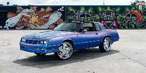 Chevrolet Monte Carlo with DUB Forged Victorio - X105