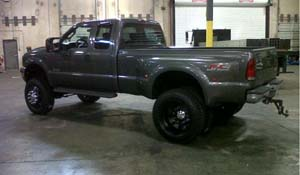2003 Ford F-350 Super Duty Dual Rear Wheel with American Force Dually With Adapters Series 1 Classic DRW