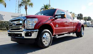 2012 Ford F-350 Super Duty Dual Rear Wheel with American Force Dually With Adapters Series 1 Classic DRW