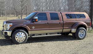 2011 Ford F-350 Super Duty Dual Rear Wheel with American Force Dually With Adapters Series 1 Classic DRW