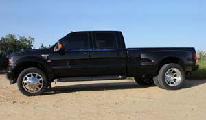 2010 Ford F-450 Super Duty Dual Rear Wheel with American Force Dually With Adapters Series 11 Independence DRW