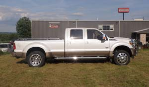 2011 Ford F-450 Super Duty Dual Rear Wheel with American Force Dually With Adapters Series 1 Classic DRW