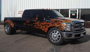 2010 Ford F-350 Super Duty Dual Rear Wheel with American Force Dually With Adapters Series 11 Independence DRW