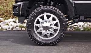 2013 Ford F-450 Super Duty Dual Rear Wheel with American Force Dually With Adapters Series 11 Independence DRW