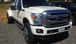 2013 Ford F-350 Super Duty Dual Rear Wheel with American Force Dually With Adapters Series 95 Holes DRW